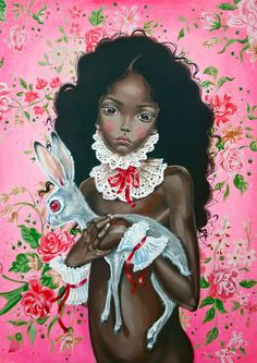 Chocolate Soul Soul limited edition print by JulieFilipenko