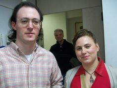 Nazareno (Izq.) junto a Judit Polgar