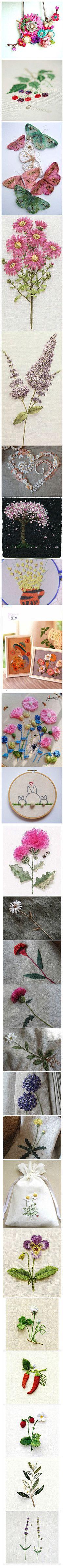 embroidered flowers @Af's 18/3/13