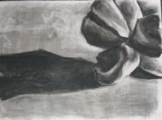 High School Art (Grade 9): Popcorn Drawing
