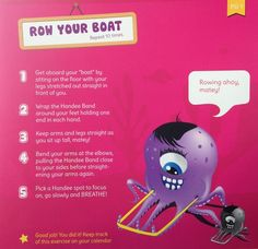 Example exercise from the Handee Band book -- Row Your Boat