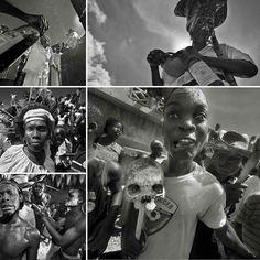 > Se celebra en Haití el Festival de los Antepasados #FetGede es el equivalente vudú de #MardiGras el #DíadelosMuertos en Mexico o #Halloween en EEUU.  #Brujeria