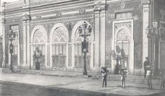 French Theater Opera House Mayaguez. This is a picture that was in a book published in 1899 about our Island. This image is from Puerto Rico shortly after the Spanish American war.