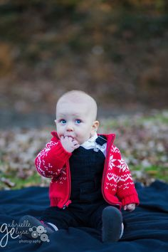 Holiday Child Photo Session in Raleigh NC Gabrielle Elyse Photography