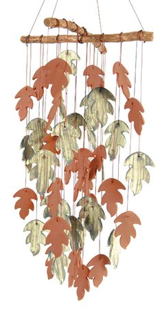 Ceramic Windchimes - I like the sticks to hang them from **