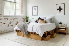 You've never seen anything like this cardboard furniture company!