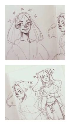 how to draw a face Art Drawings Sketches, Cartoon Drawings, Cute Drawings, Art Inspiration Drawing, Character Design Inspiration, Mermaid Drawings, Arte Sketchbook, Cartoon Art Styles, Art Reference Poses