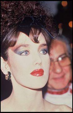 En 1985, Isabelle Adjani lors de la soirée de lancement du parfum