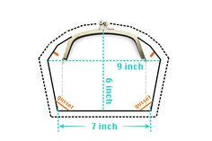 Pattern Drafting for the Arch Shape Metal Purse Framelarge metal clutch frame pattern drafting, kisslock frame clutch making tutorial, how to cut a clutch patternRisultati immagini per frame purse sewing pattern Coin Purse Pattern, Coin Purse Tutorial, Leather Bag Pattern, Wallet Pattern, Tote Pattern, Pouch Tutorial, How To Make Purses, How To Make Handbags, Bijoux Fil Aluminium