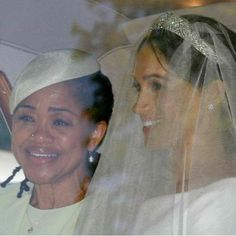 The Duchess of Sussex, Meghan Markle and her mother, Doria Ragland