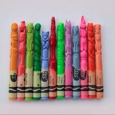 Pimp my crayons de couleur