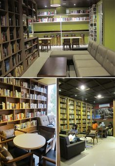 Reading Room Kemang, Jakarta - Indonesia, beautiful places to visit in Indonesia.