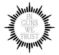 In Guns We Trust by Oliver Hambsch, via Behance