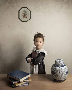 Inspiration: Fine Art Portraits Influenced by Classical Paintings - Bill Gekas