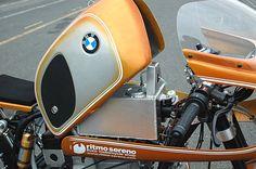 Carbonillas Blog: BMW R80 Cafe Racer Ritmo Sereno