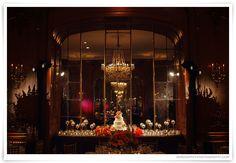 Peach and Orange wedding colors, Wedding in Houston, La Colombe d