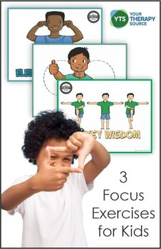 You can nurture its development by providing fun and compelling focus exercises for kids that require children to sustain their focus. Pediatric Occupational Therapy, Executive Functioning, Physical Therapist, Exercise For Kids, Pediatrics, Clinic, Physics, Exercises, Posts