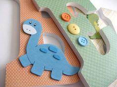 dinosaur nursery themes | Wooden Letters Earth Tone Dinosaur Theme- Nursery Bedroom | Babys room