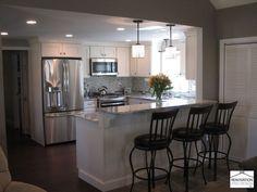 u shaped kitchens with peninsula - Google Search