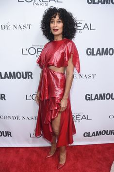 25ce7746f87 Tracee Ellis Ross Photos - Tracee Ellis Ross attends Glamour s 2017 Women  of The Year Awards