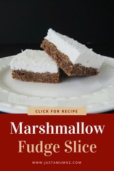Everyone will love this recipe, the kids, grandma, you! Such a simple recipe, using a weetbix base and homemade marshmallow. Lots of ideas, easy recipes and the best baking. #marshmallow #baking #slice #weetbix #recipe