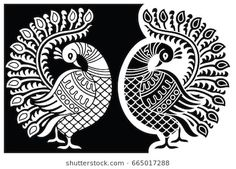 Find Peacock Motif stock images in HD and millions of other royalty-free stock photos, illustrations and vectors in the Shutterstock collection. Madhubani Paintings Peacock, Kalamkari Painting, Tanjore Painting, Madhubani Art, Indian Art Paintings, Worli Painting, Peacock Painting, Peacock Art, Fabric Painting