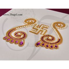 Gauri Decoration, Kalash Decoration, Thali Decoration Ideas, Rangoli Painting, Acrylic Rangoli, Diya Designs, Rangoli Designs Flower, Door Hanging Decorations, Diwali Decorations At Home