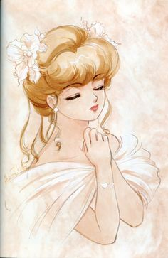 """Yu Morisawa from """"Creamy Mami The Magic Angel"""" series by manga artist Akemi Takada."""