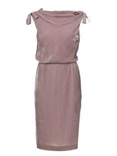 Burda Jackie O inspired cowl back dress