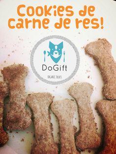 Cookies de res! Con alto contenido proteico y enriquecidas con leche y calcio...YUMI!
