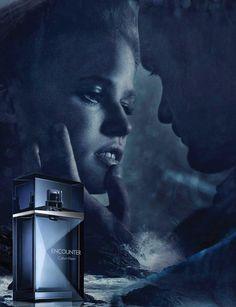 Alexander Skarsgard &   Lara Stone - Calvin Klein - Calvin Klein Encounter Fragrance Fall 2012