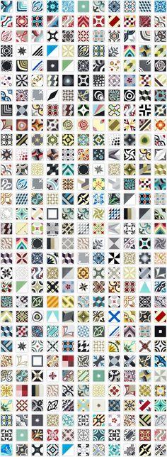 36 idées déco avec des motifs carreaux de ciment