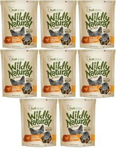 Fruitables Wildly Natural Cat Treats Free Range Chicken x *** Check this awesome product by going to the link at the image. (This is an affiliate link) Healthy Cat Treats, Free Range, Ben And Jerrys Ice Cream, Pet Supplies, Chicken, Natural, Tableware, Image Link, Cats