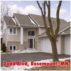 Dodd Blvd - Rosemount, MN - 55068 | Single-Family Home | 5 Bed | 3 Bath | 2,701 sqft | Built 2005 | Listing price $334,900 | Qualify and Own this House w/  $20,094.00  towards your Closing Cost w/ our Assist Program, $11,722/down  and  $1709a/month | call/text  (973) 750-8236  |#MN @ http://on.fb.me/1E1r1pg | This beautiful home features 3 bd on 1 level, spacious master suite, vaulted ceilings.