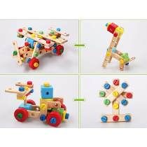 Juego Didactico Madera Para Armar Avion Auto Caballo 10 En 1 Dani, Wooden Toys, Ideas, Design, Teaching Aids, Wood Toys, Wooden Toy Plans, Woodworking Toys