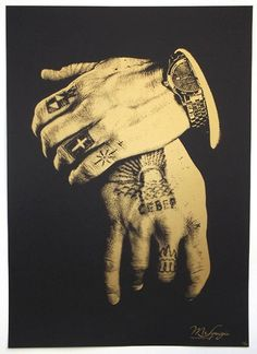 Decorative hands