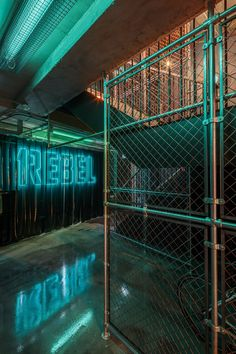 Image 1 of 27. © Gareth Gardner Garage Gym, Basement Gym, Fitness Design, Gym Design, Underground Club, Gym Club, Luxury Gym, Industrial, Nightclub Design