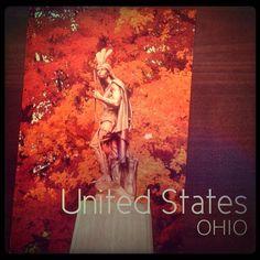 2013-12-10 #Postcard from #UnitedStates (US-254039) via #postcrossing #Ohio #Barberton #ChiefHopocan #Padgram