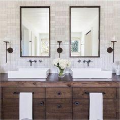 45 Fresh Modern White Farmhouse Bathroom Vanities Ideas