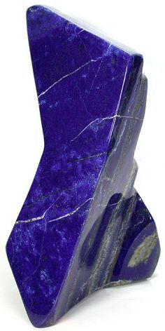 Lapis lazuli forms when magma under the surface of the earth forces its way into an existing rock.