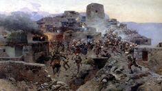 1832 Asalto a Gimry - Franz Roubaud
