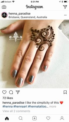 Latest Mehndi Designs for Legs on Happy Shappy. Finger Henna Designs, Henna Art Designs, Mehndi Designs For Girls, Mehndi Designs 2018, Mehndi Designs For Beginners, Stylish Mehndi Designs, Mehndi Designs For Fingers, Mehndi Design Pictures, Beautiful Mehndi Design