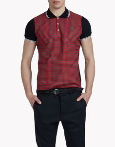 check polo shirt camisetas y tops Hombre Dsquared2
