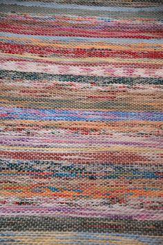 porch rug close up