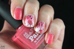 Nerdic Nails. Picture Polish - Paris water decals.