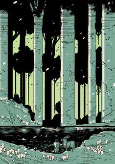 Mononoke Hime by ~SetaGila on deviantART