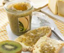 džem z kiwi a banánů Agar, Preserves, Hummus, Ethnic Recipes, Thumbnail Image, Food, Thermomix, Meals, Preserve