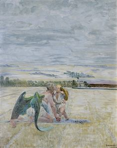 View Angel and Shepherd Boy By Jacek Malczewski; Oil on cardboard; Access more artwork lots and estimated & realized auction prices on MutualArt. Art Auction, Contemporary Paintings, Home Art, History, Antiques, Gallery, Boys, Artwork, Angels