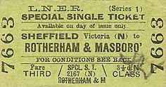 Ticket vintage aged ephemera