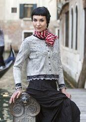 """""""Venezia"""" cardigan in cotton"""